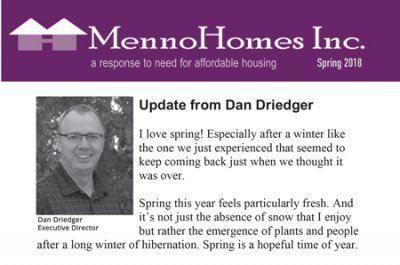 2018 Spring Newsletter Feature Image